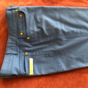 Roberto Cavalli blue pants. Purchased in Beverly H